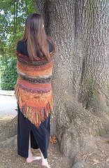 autumn shawl